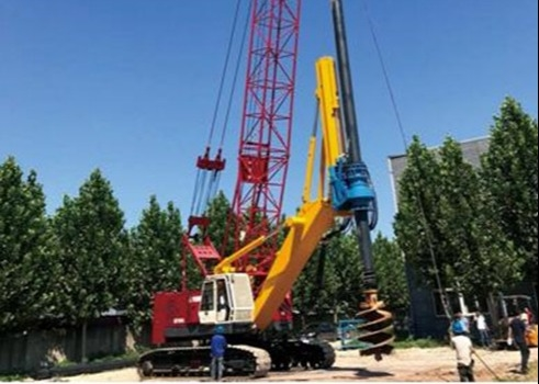 199 Kw Hydraulic Pile Machine SD2200 / Drilling Rig Equipment Energy Saving