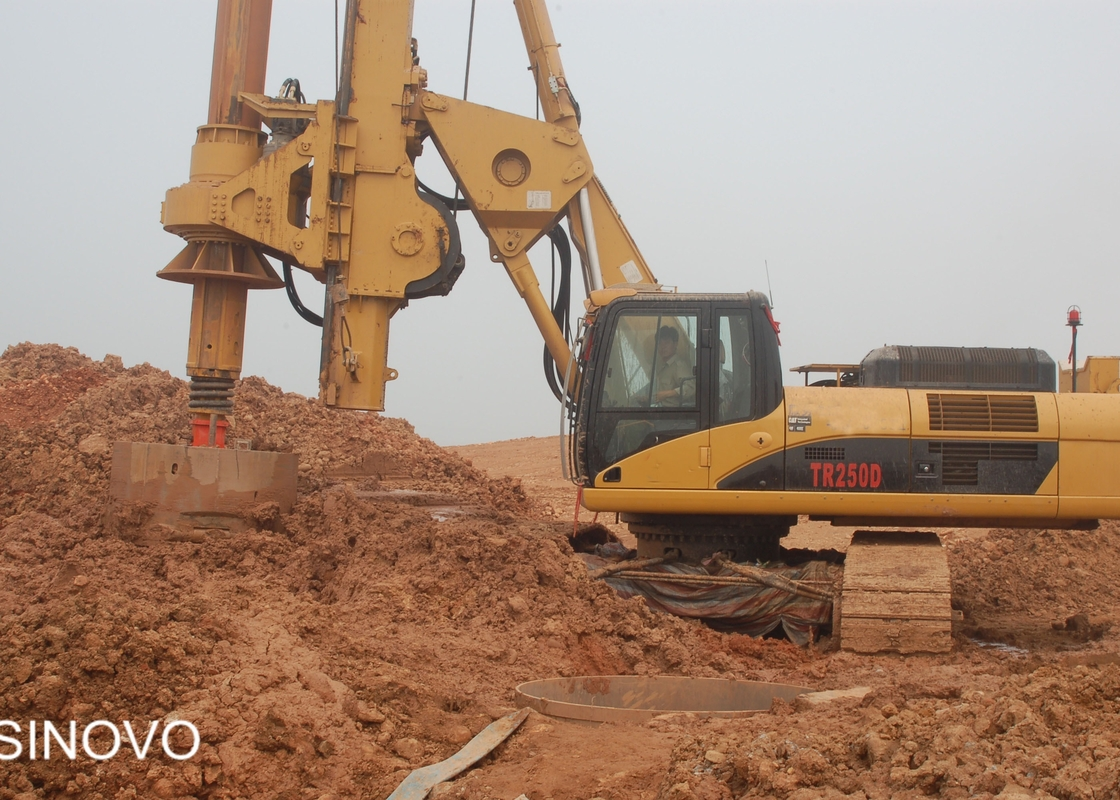 HydraulicRotary Drilling Rig With 80m Max Drilling Depth,Max Hole Diameter 2500m